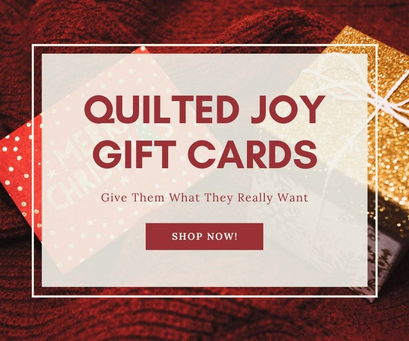"""Quilted Joy Gift Cards Give Them What They Really Want Shop Now"""