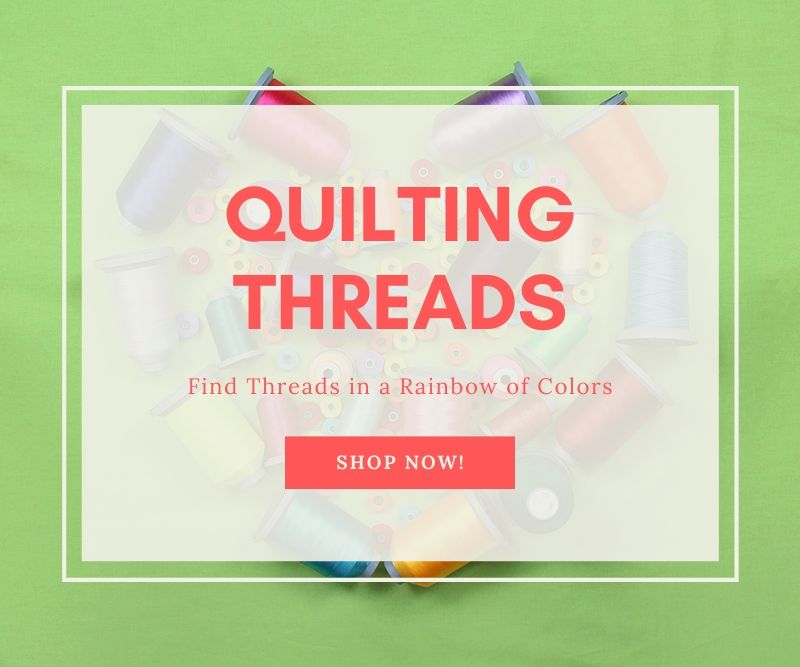 """Quilting Threads Find Threads in a Rainbow of Colors Shop Now!"""