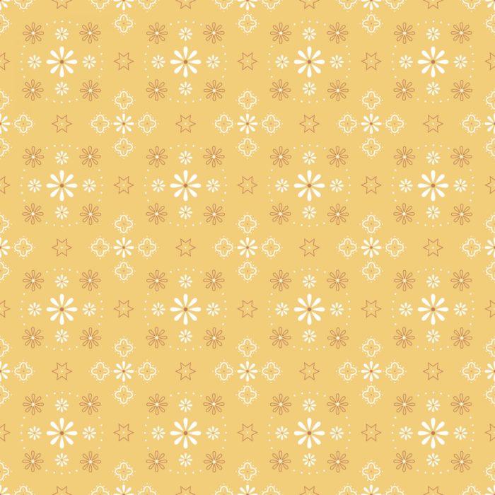 """Bee Backings 108"""" Wide -Bandana Honey"""