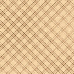 "Light Tan Ticking Plaid 108"" Wide Back"