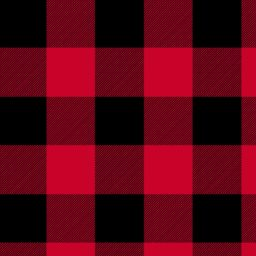 "Red Buffalo Plaid 108"" Wide Back"
