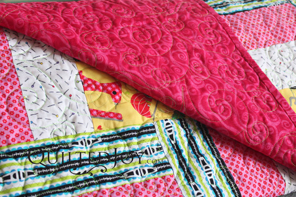 Quilted Joy - How to Select a Backing Fabric